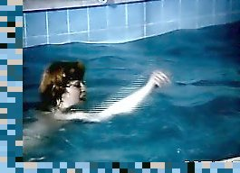 swimming retro
